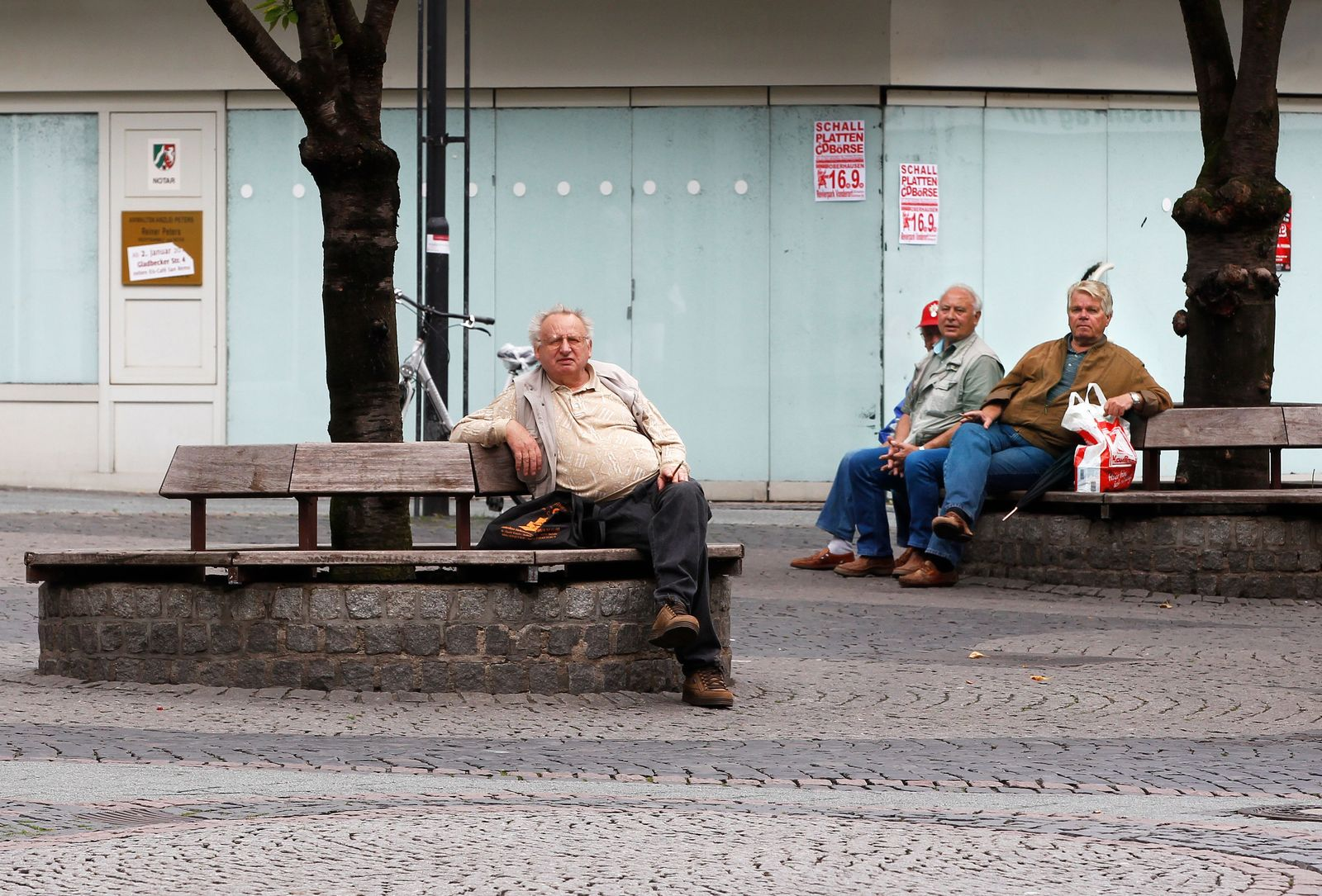 Altersarmut / Armut / Arm / Bedürftige / Rentner