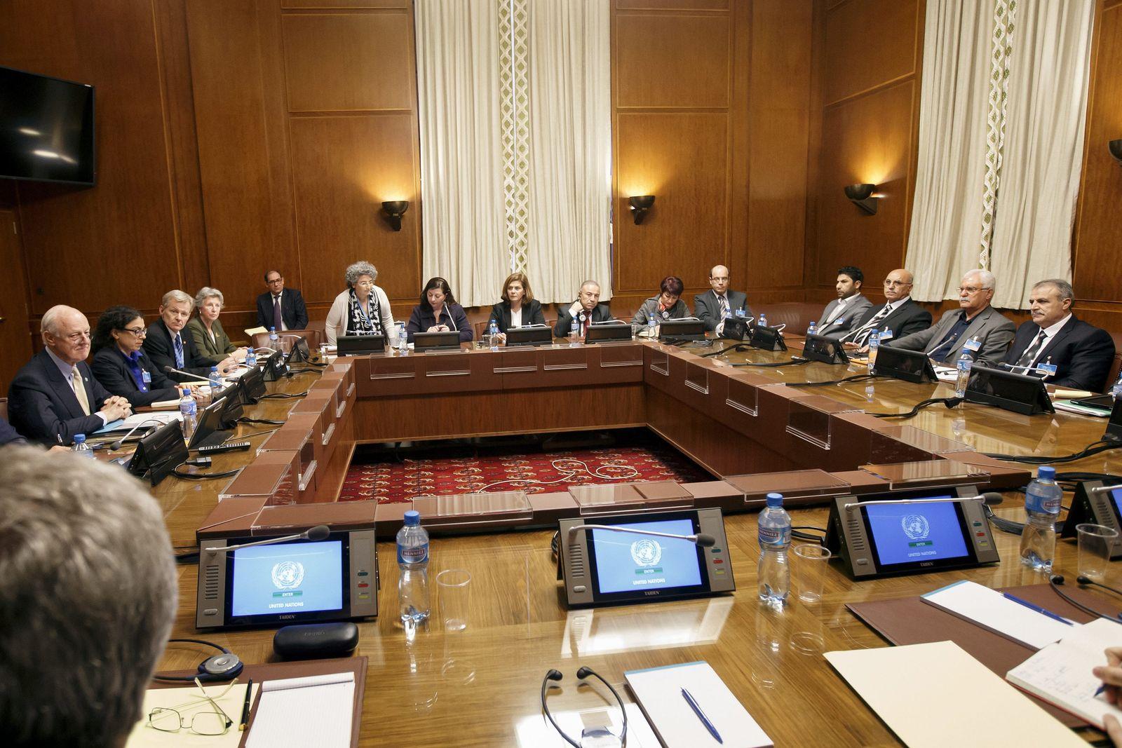 Friedensgespräche Syrien Genf
