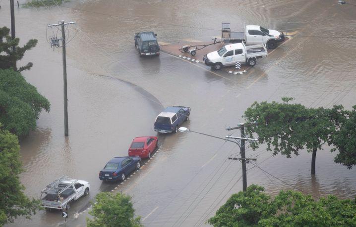 Hochwasser in Townsville
