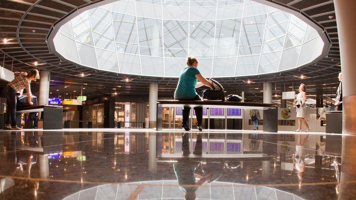 Frankfurter Flughafen: Neuer Flugsteig im Praxistest