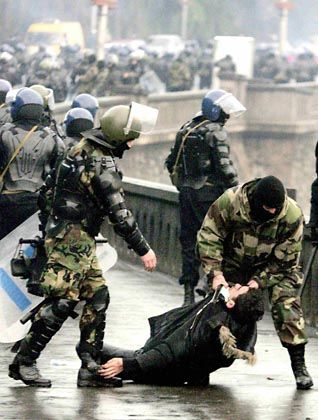 Riots broke out in Tbilisi in November, 2007, after Irakli Okruashvili was arrested and prevented from opposing his onetime friend, President Mikhail Saakashvili.