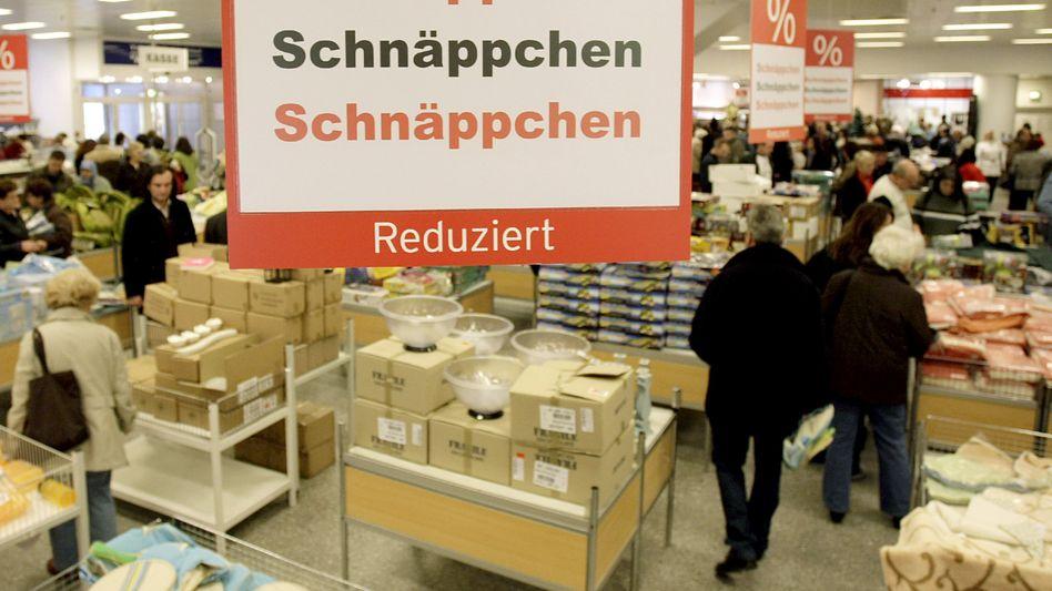 Quelle-Einkaufszentrum in Nürnberg: Prozente, Rabatte, Schnäppchen - alles ist reduziert