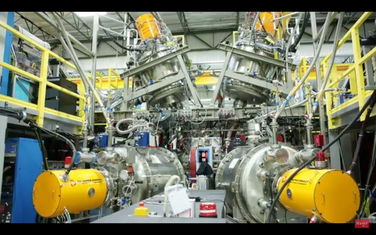 NUR ALS ZITAT Bor-Wasserstoff-Kernfusionreaktor der Firma Tri Alpha
