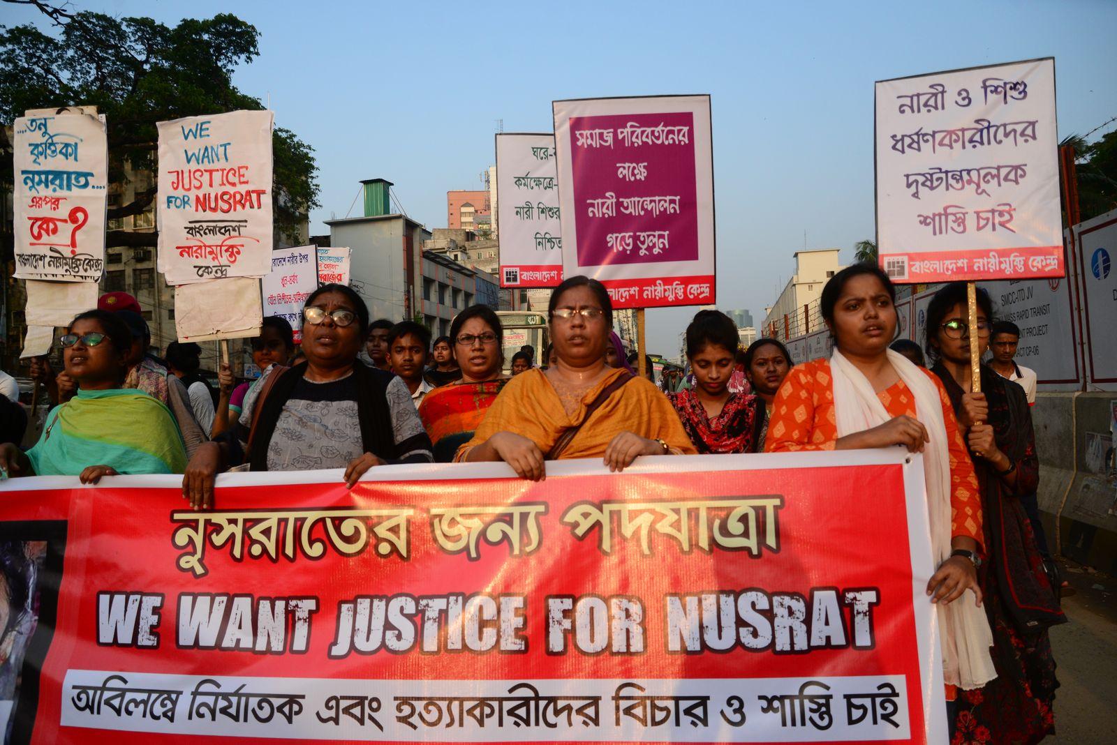 EINMALIGE VERWENDUNG Bangladesch/ Gewalt gegen Frauen