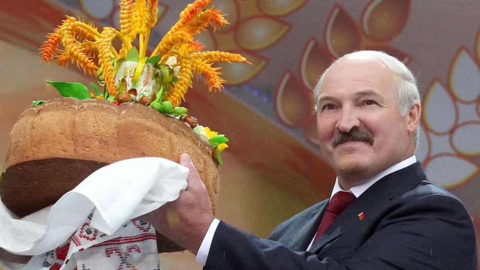 WeißrussischerDiktator Lukaschenko: Er ist wieder wer
