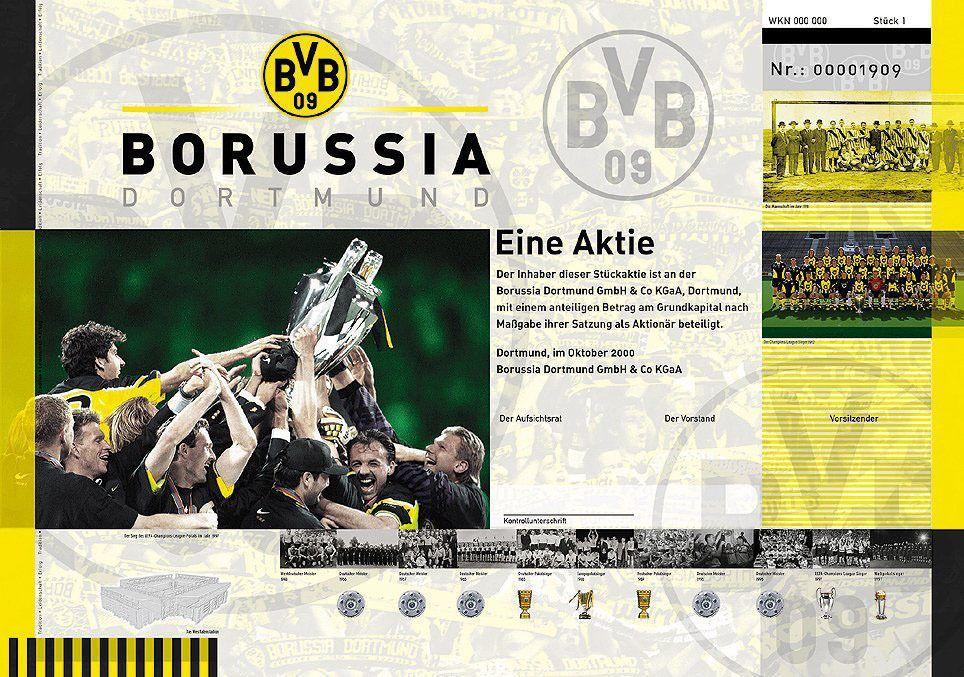 Borussia Dortmund / Aktie / Börse / BVB / Börsengang