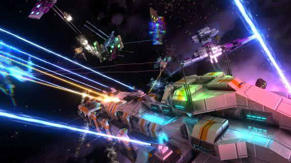 """Das Science-Fiction-Computerspiel """"Avorion"""" spielt im Weltraum"""