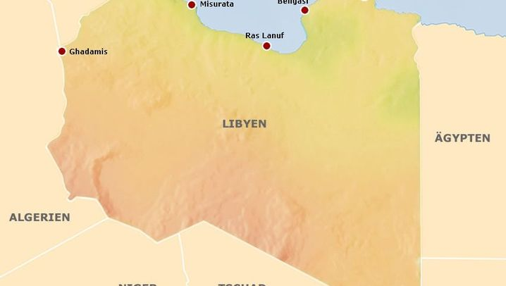 Libyen: Städte, Ethnien, Ölleitungen