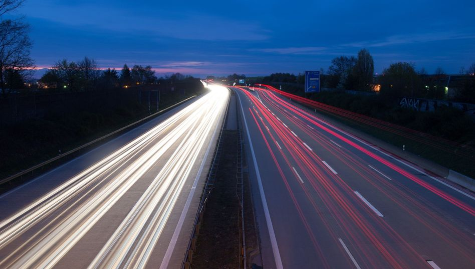 Autobahn 4 bei Dresden