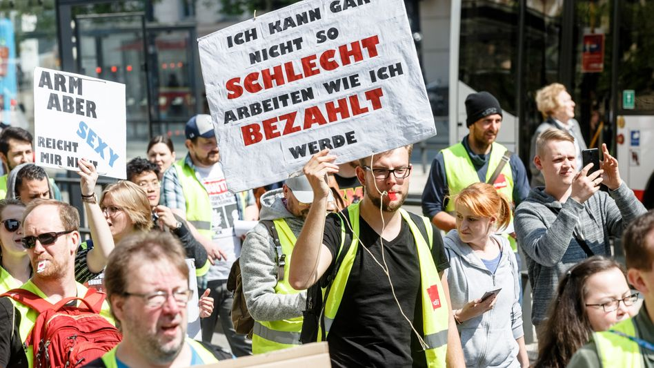 Demonstration in Hamburg (Symbolbild)