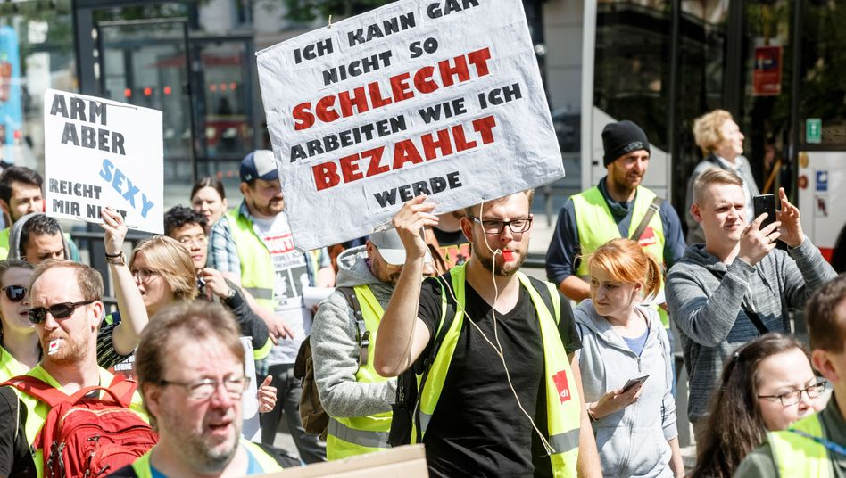 Demonstration in Hamburg (Symbolbild)