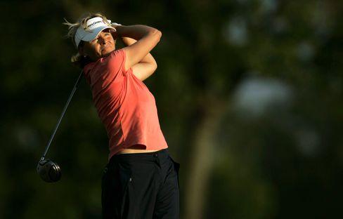 Schwedens Golfstar Liselotte Neumann