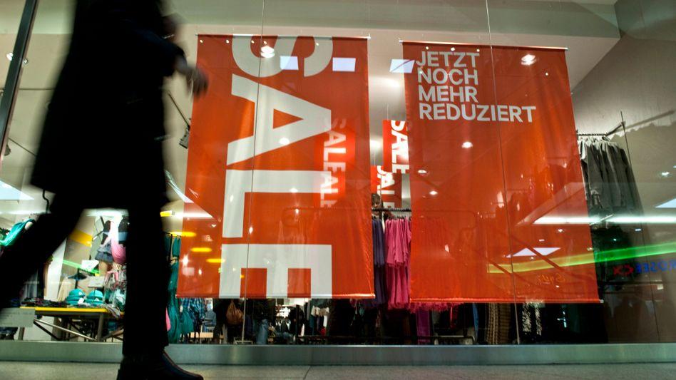 Geschäft in Berlin: Umsätze im Einzelhandel gestiegen