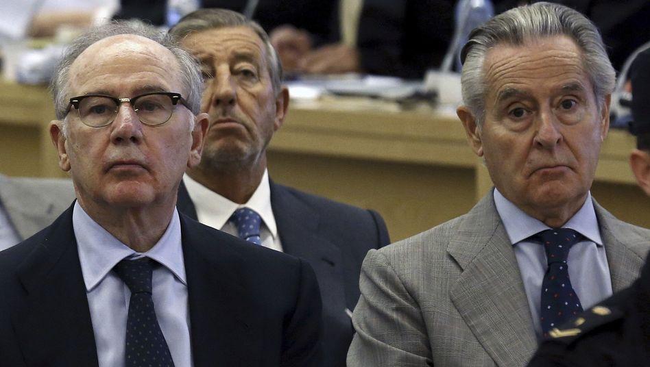 Rodrigo Rato (links)