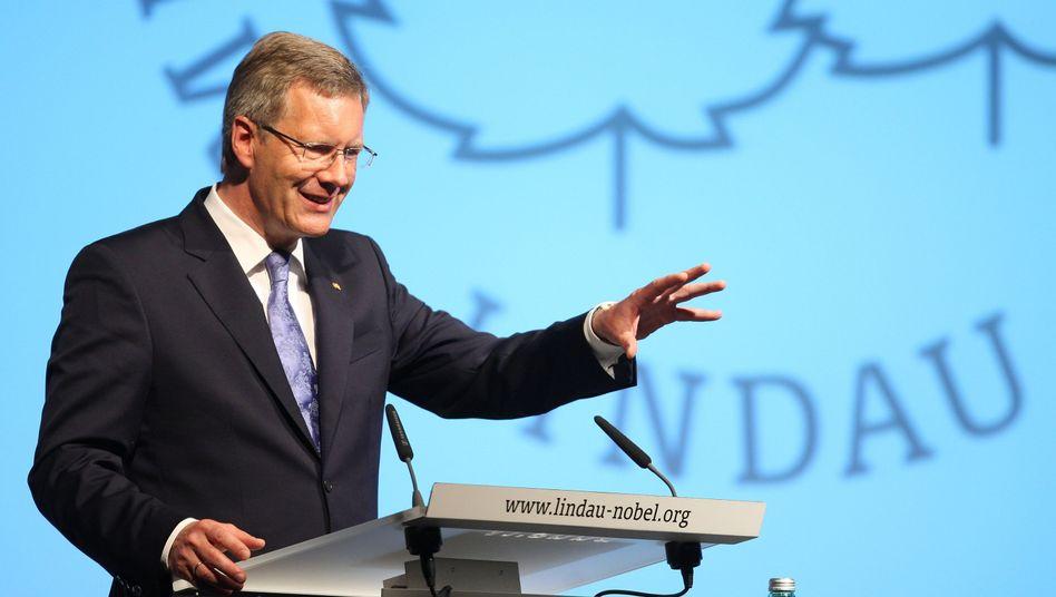 Bundespräsident Christian Wulff: Die Stimmung nicht zusätzlich anheizen