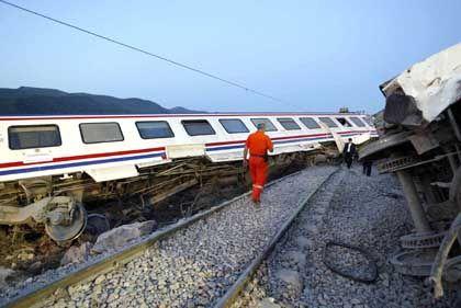 Bahn-Unglück in der Türkei: Kleinigkeiten bekommen plötzlich große Bedeutung