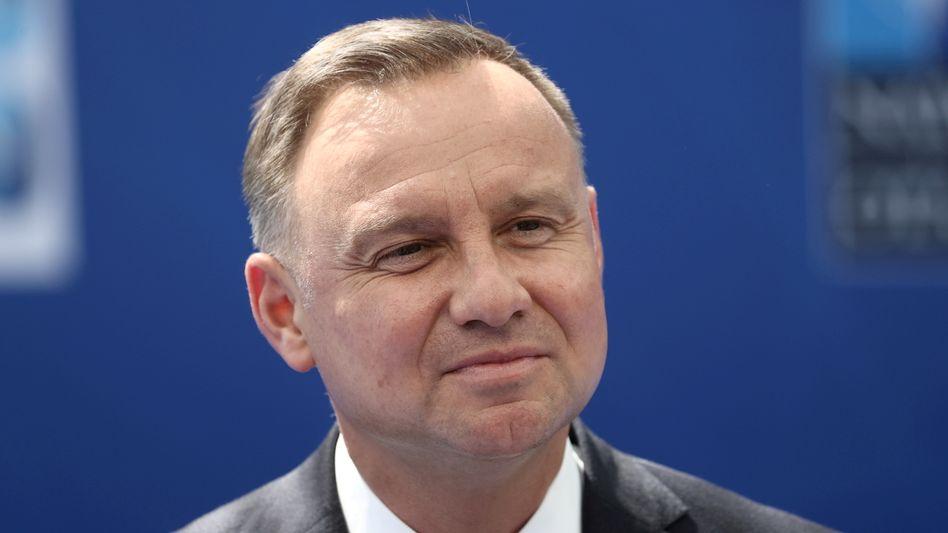 Polnischer Präsident Duda: Der Ausnahmezustand soll für 30 Tage gelten
