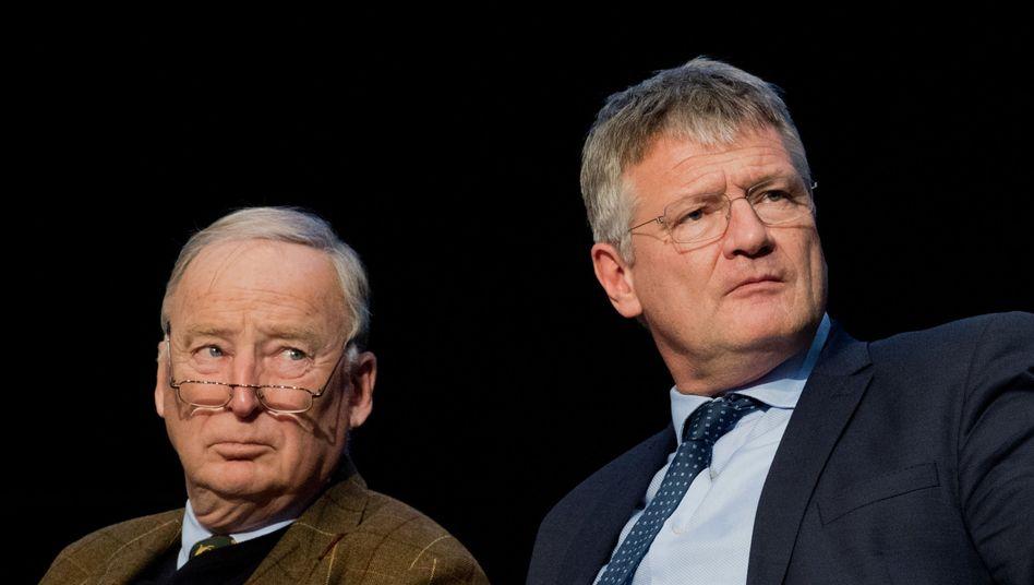 Neue AfD-Vorsitzende Gauland und Meuthen