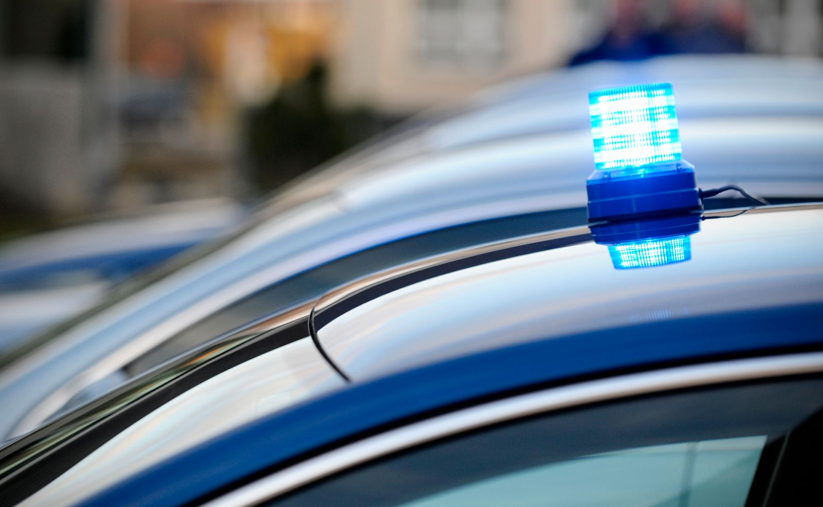 Blue emergency vehicle lighting, beacon