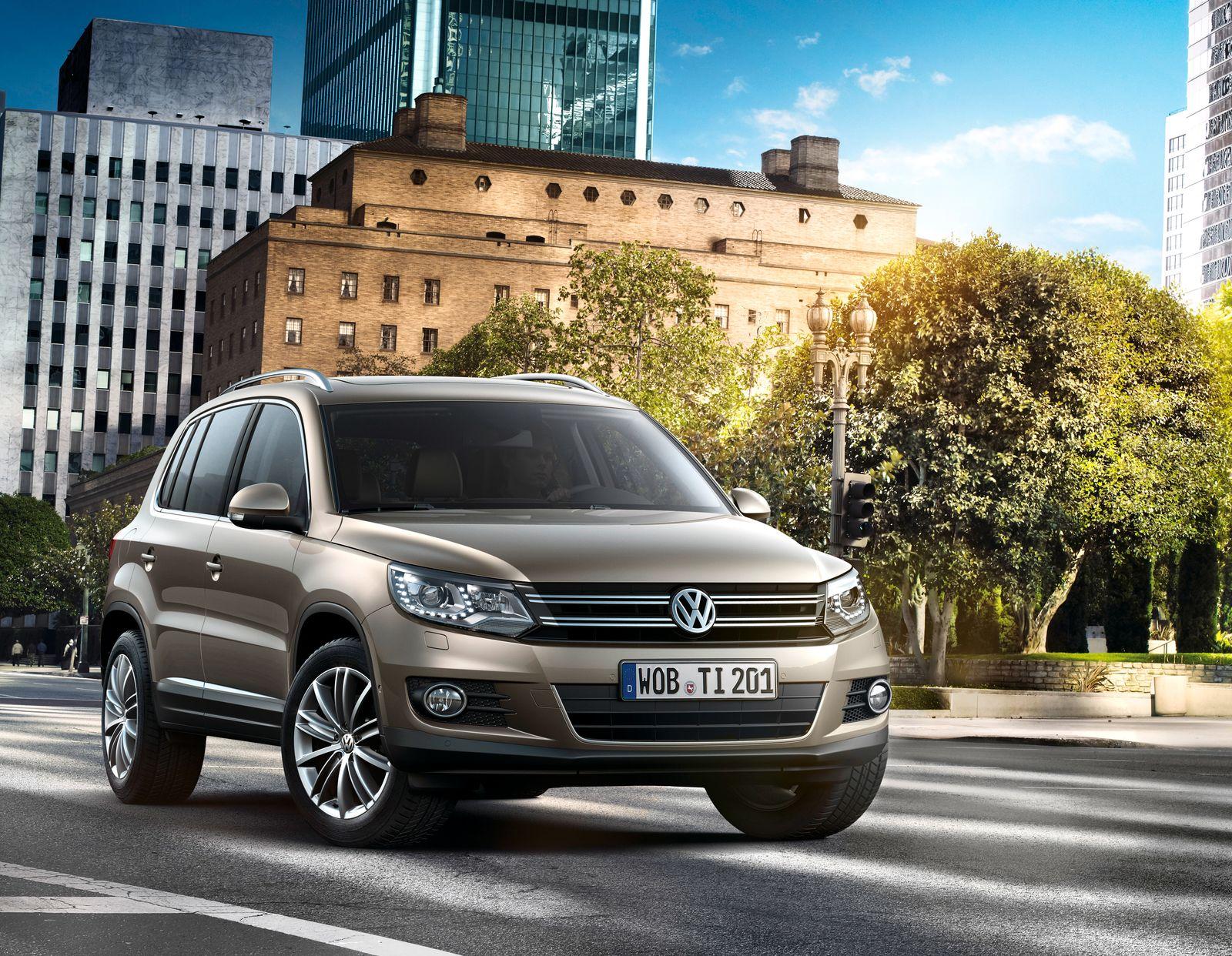 VW Tiguan / Genf-Karussell