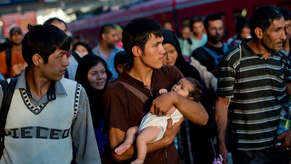 Hilfefür Flüchtlinge: München ist da