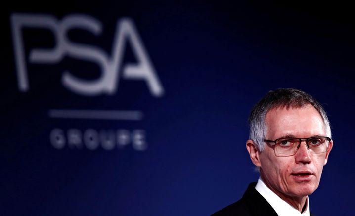 Carlos Tavares: Aktuell PSA-Chef, künftig wohl noch mächtigerer Generaldirektor