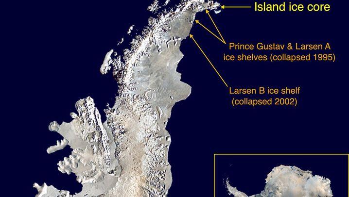 Antarktis: Bohrkern deutet auf schnelles Schmelzen hin