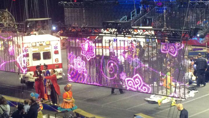 Zirkus-Unfall: Sturz in die Manege