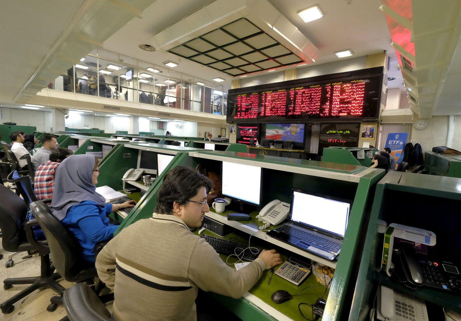 Iran / Teheran / Börse
