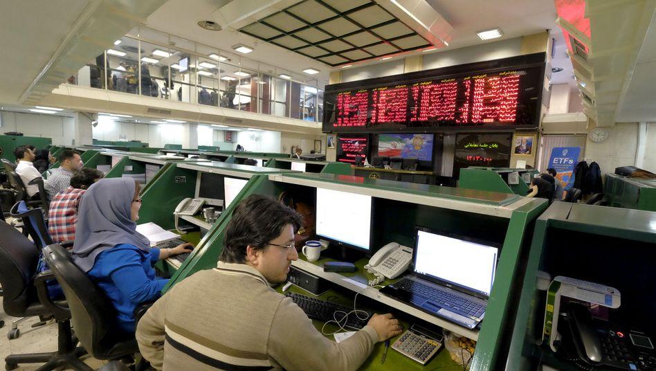 """Börse in Teheran: """"Zehn Milliarden Euro Exportvolumen durchaus realistisch"""""""