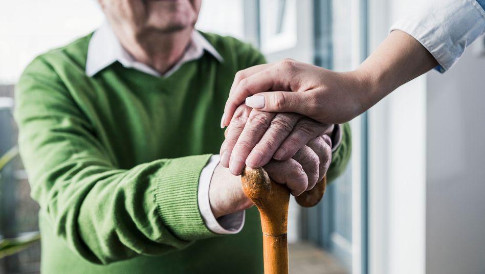 Die Menschen werden immer älter.