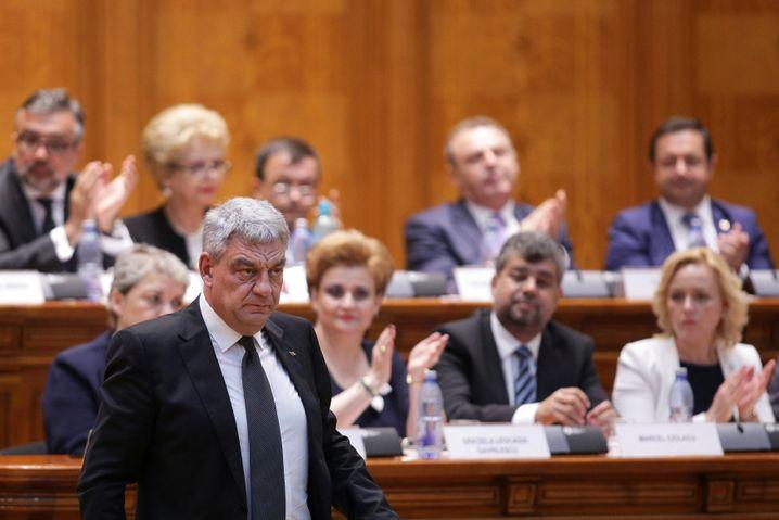Noch-Ministerpräsident Tudose (Archivbild)