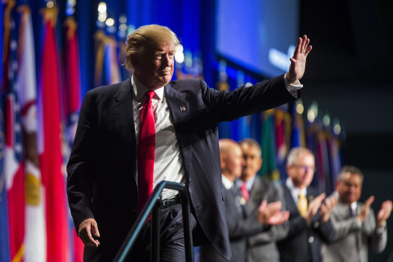 Donald Trump Speaks at NGAUS General Conference in Baltimore