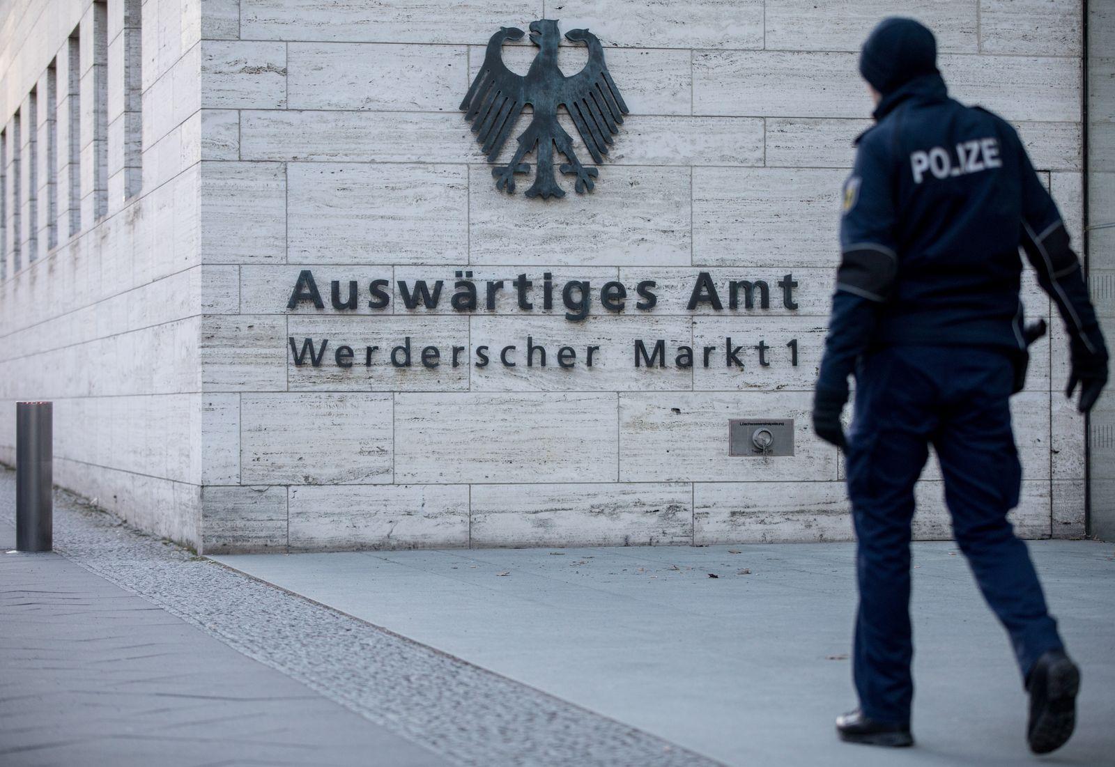 Auswärtiges Amt Berlin/ Hackerangriff/ Regierungsnetz