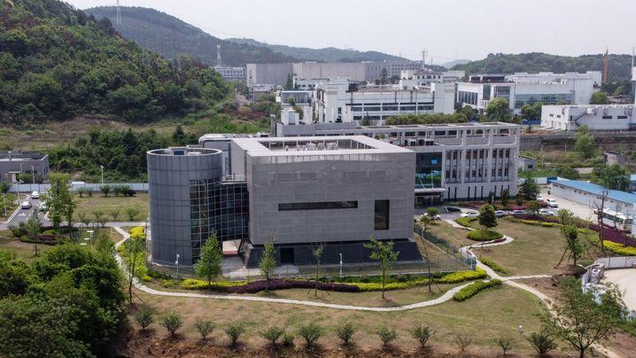 Virologisches Institut in Wuhan (Archivbild)
