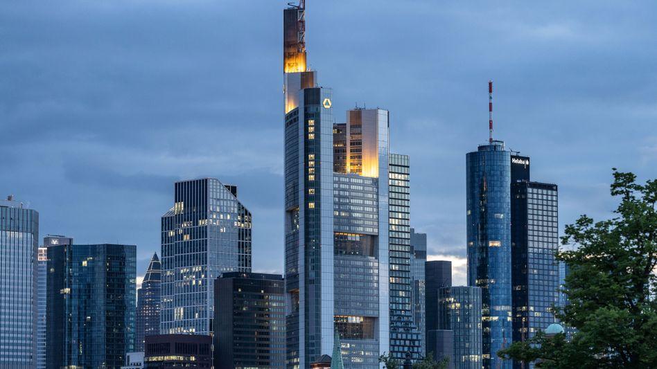 Bankenviertel in Frankfurt am Main: Mehr Jobs verloren als gewonnen