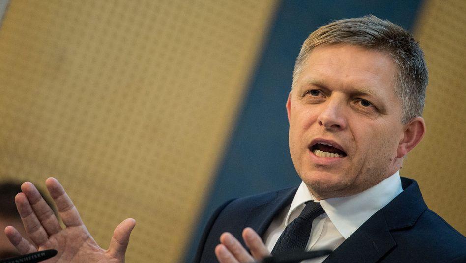 Slowakischer Premier Fico: Flüchtlinge als Wahlkampfthema