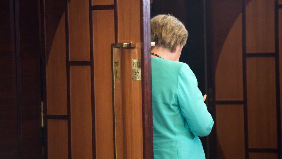 Kanzlerin Merkel in Hangzhou