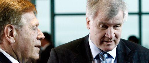 CSU-Politiker Glos, Parteichef Seehofer: Darf der Minister gehen?