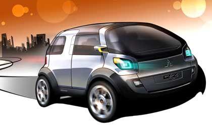 Mitsubishi-Studie EZ MIEV: Das Verschwinden des Motorraums