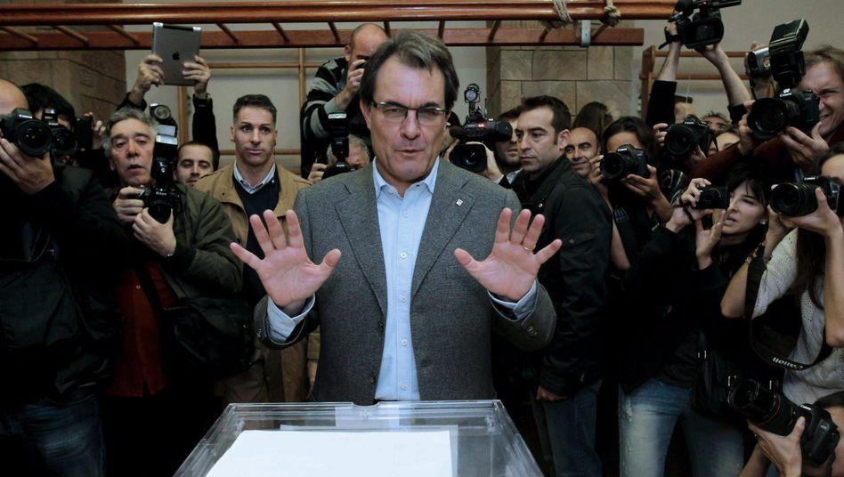 Ministerpräsident Artur Mas: Was wird aus dem Unabhängigkeitsplan?