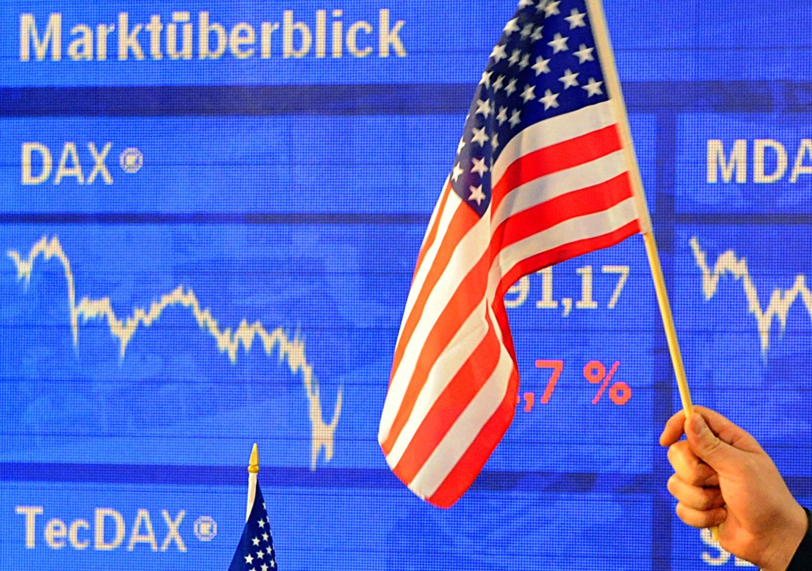 Börse Frankfurt nach US-Präsidentschaftswahlen
