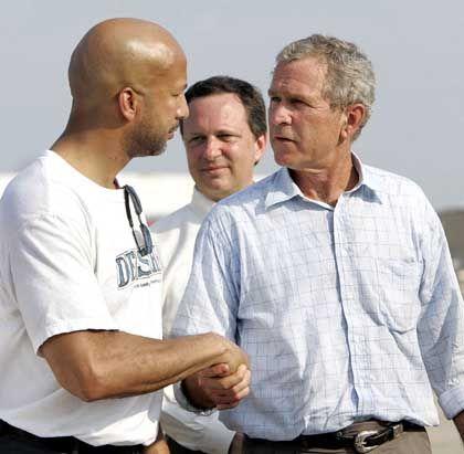 """Bürgermeister Nagin, Präsident Bush: """"Die Stadt schaut auf euch"""""""