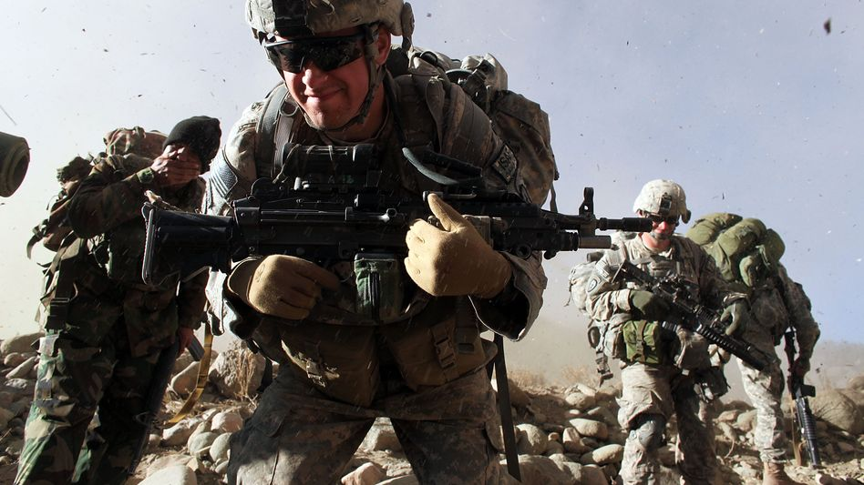 US-Soldaten in Afghanistan: Doch nicht nur Ausbilder?