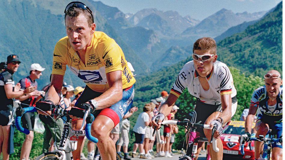 Radprofi Armstrong, Konkurrent Jan Ullrich in den Pyrenäen 2001: Vater aller Lügner