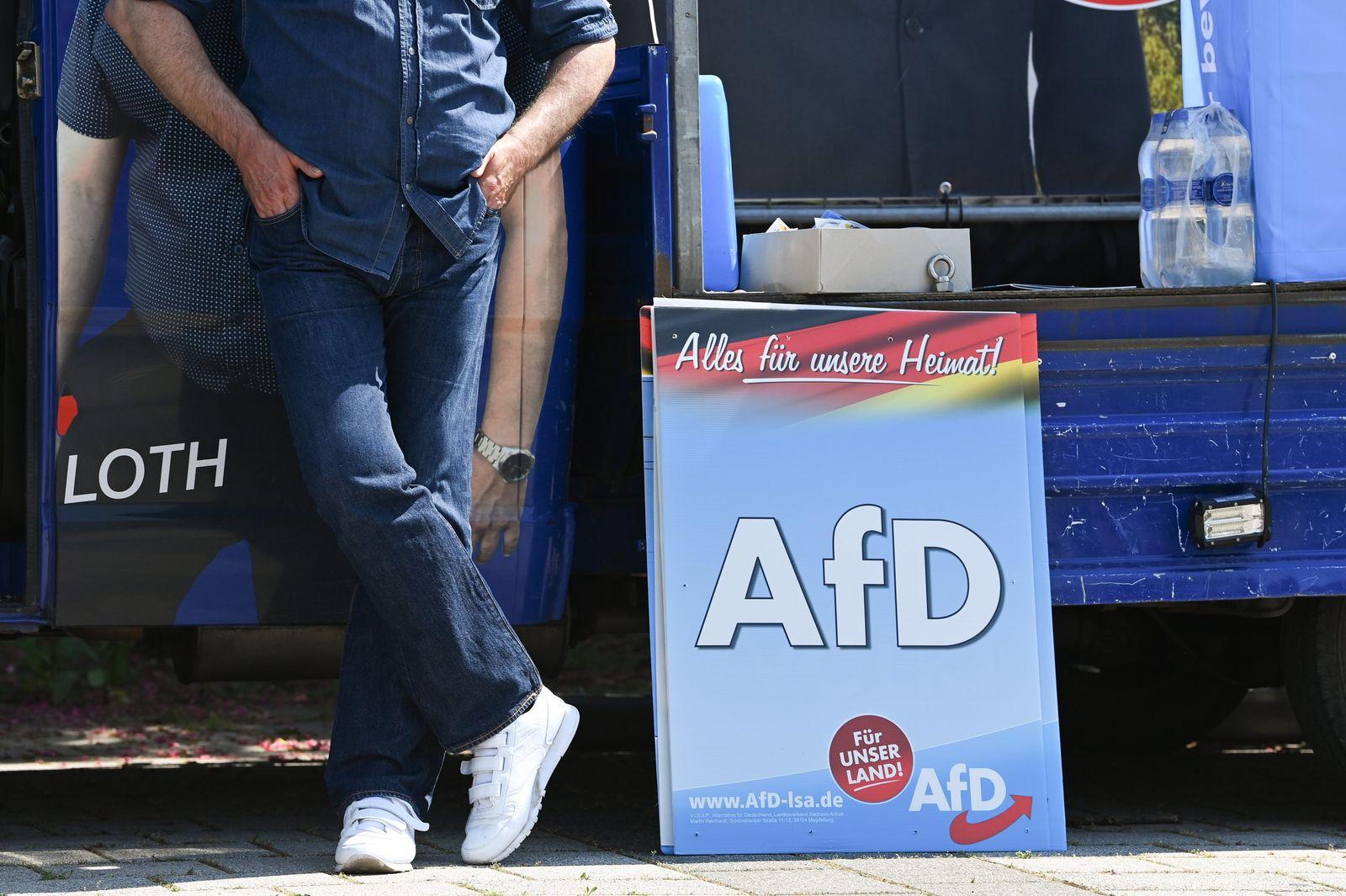 Wahlkampf AfD · Sachsen-Anhalt