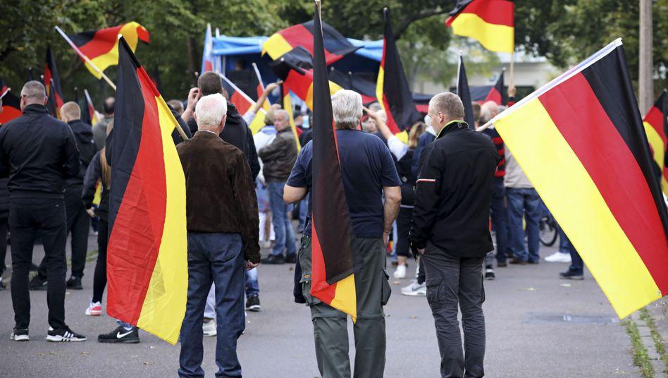 AfD-Demonstration in Mecklenburg-Vorpommern: Potenzial für Menschenfänger