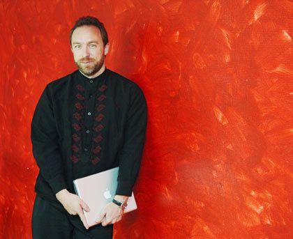 """Wikipedia-Gründer Jimmy Wales: Verdienste um die """"Mission zur Aufklärung"""""""