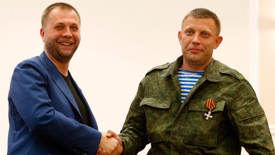 """""""Volksrepublik Donezk"""": Separatisten-Chef tritt ab"""