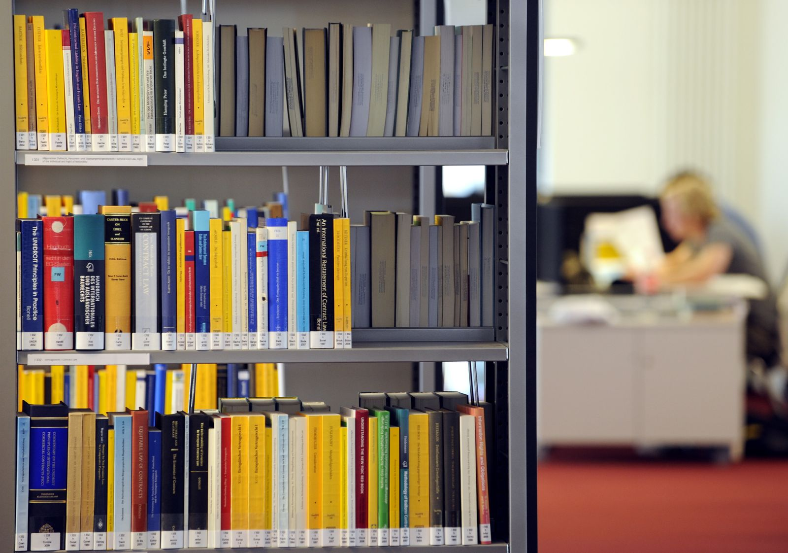 Master / Magister / Student / Bibliothek